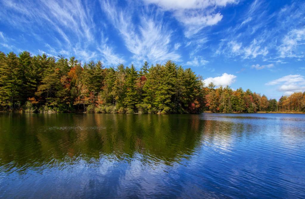 Lake Conasauga by kvphoto