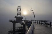 25th Oct 2020 - Foggy Morn on Brant St. Pier