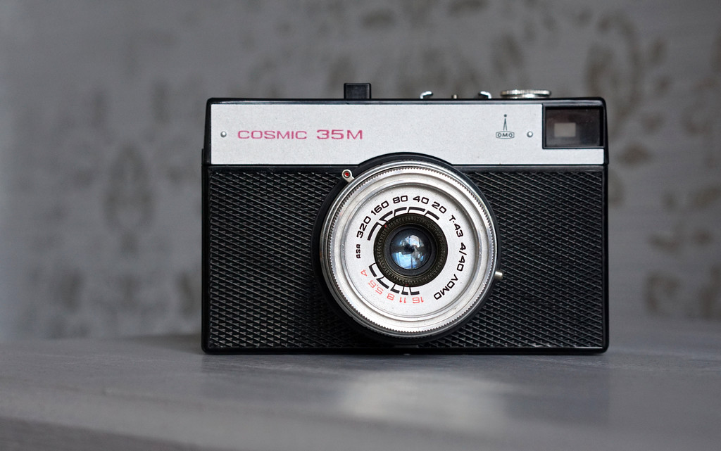 Cosmic 35M vintage camera by phil_howcroft