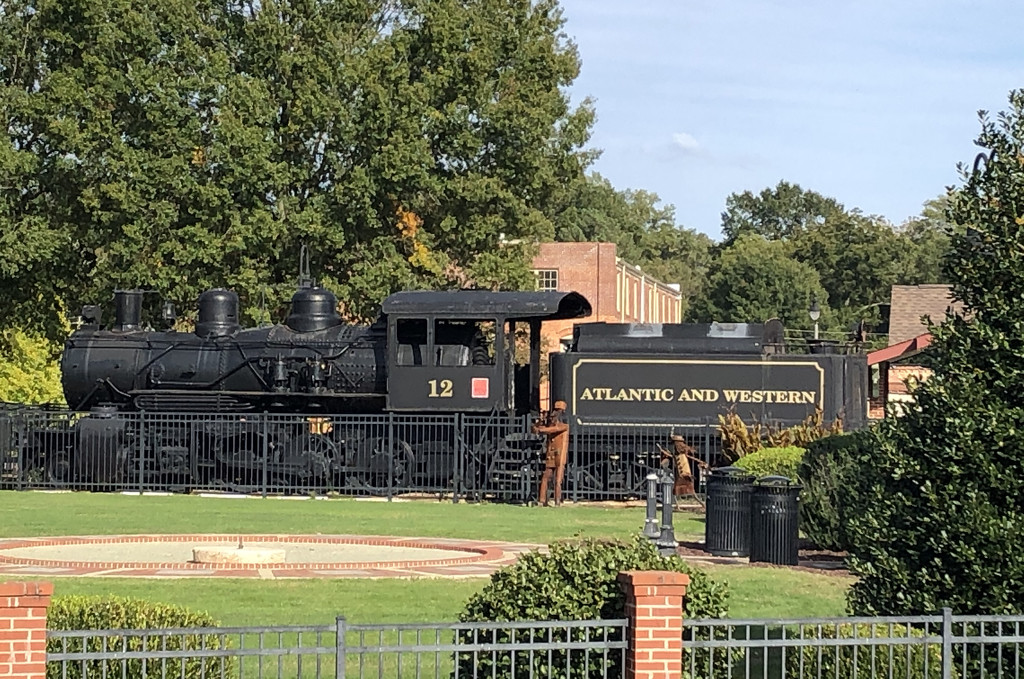 Train in the park by homeschoolmom