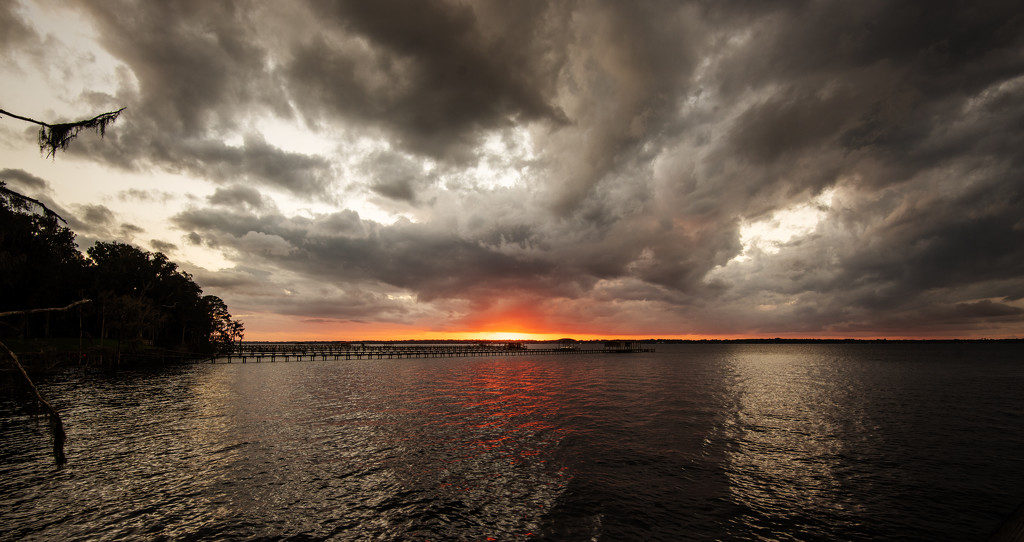 Stormy Sunset! by rickster549