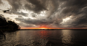 25th Oct 2020 - Stormy Sunset!