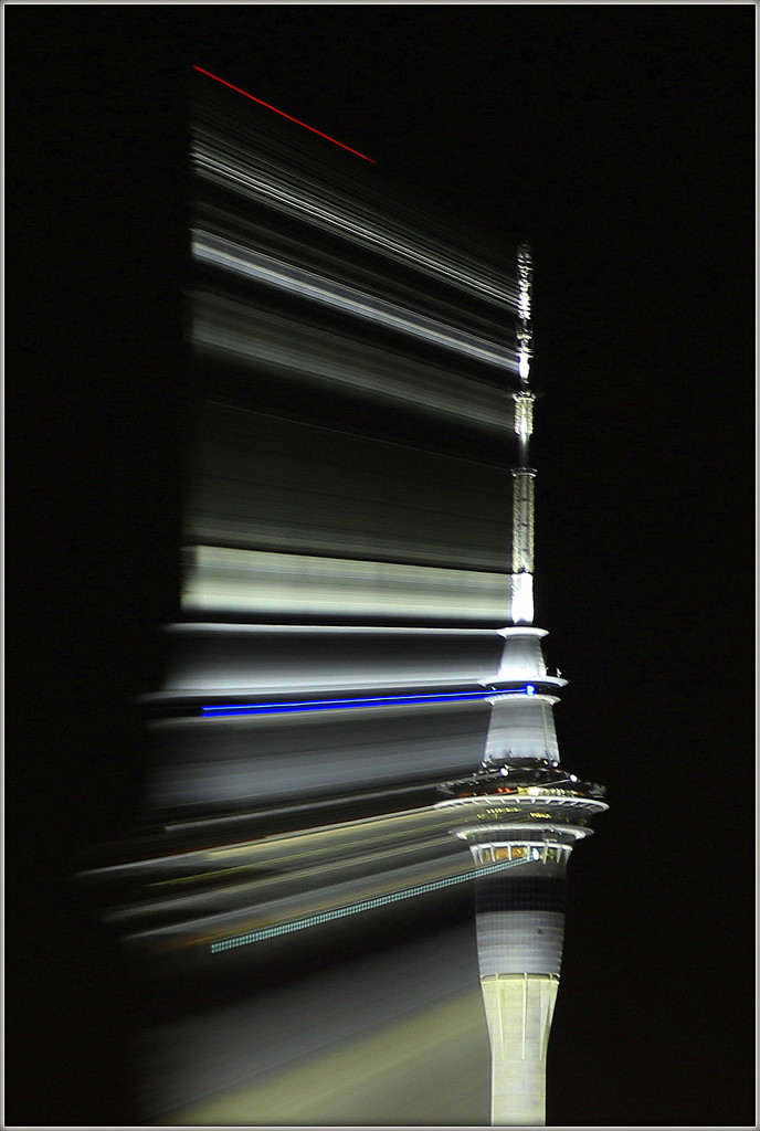 Sky tower by dide