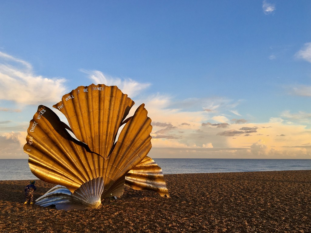 Scallop Shell, Aldeburgh by helly31