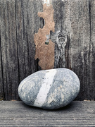 26th Oct 2020 - a stone with two zones