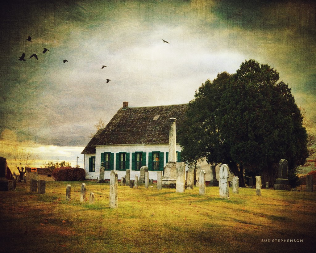 Pinhook Methodist Church and Cemetery by Swazzette