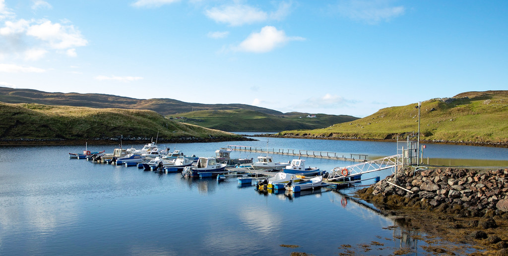 Muckle Roe Marina by lifeat60degrees