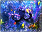 27th Oct 2020 - Kooky Octopus Edit 1 (I'd Like to Be...)
