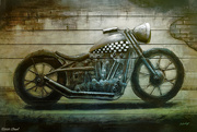 17th Oct 2020 - Motorcycle Art