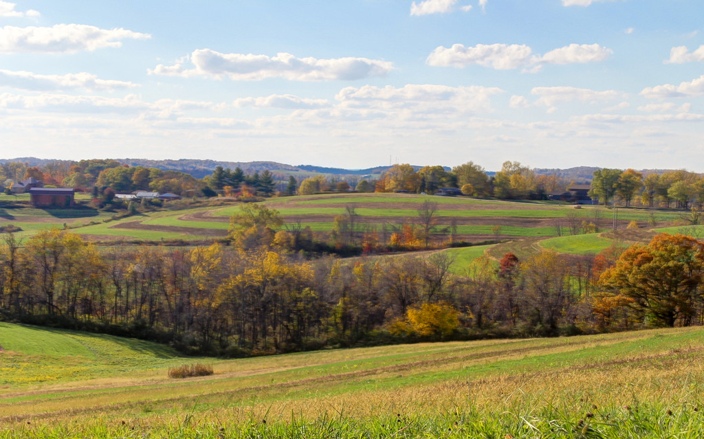 Pennsylvania autumn scenic by mittens