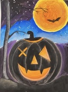 29th Oct 2020 - Halloween Painting