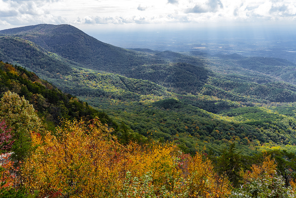 Fort Mountain Overlook by k9photo