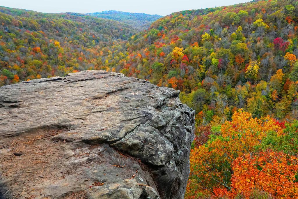 Hawksbill Crag View by milaniet