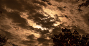 29th Oct 2020 - Clouds and Moon!