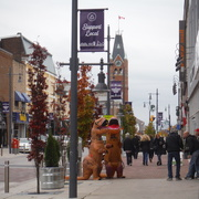 29th Oct 2020 - T-Rexes Loose Downtown!