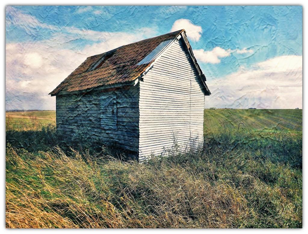 Plain Hut  by ajisaac