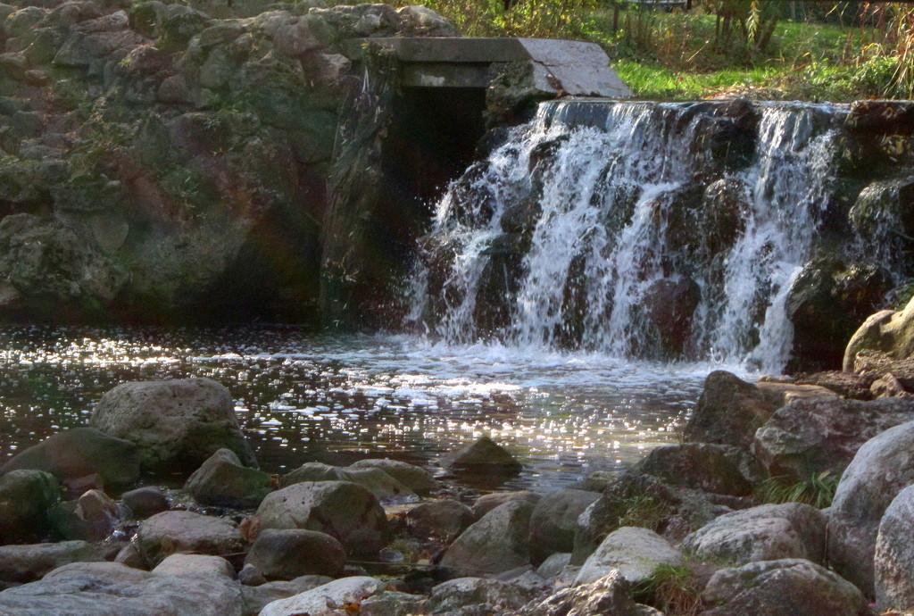 Edwards Gardens in Toronto - Waterfall by bruni