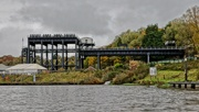 30th Oct 2020 - ANDERTON BOAT LIFT- ONE