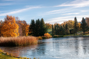 30th Oct 2020 - Autumn by the pond