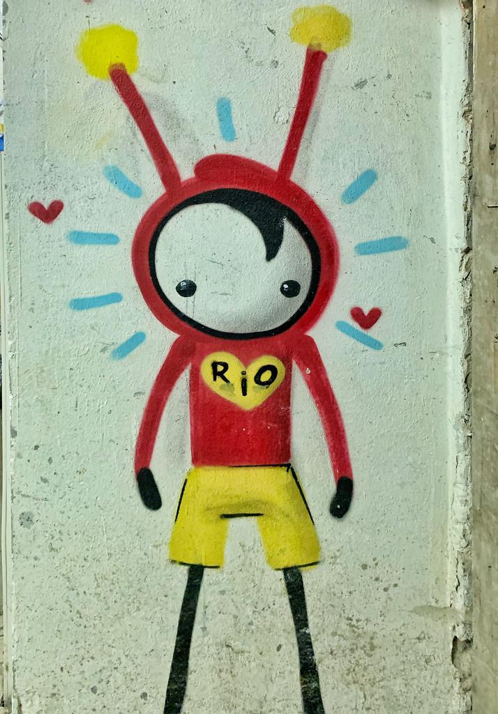 Rio is in love.  by cocobella