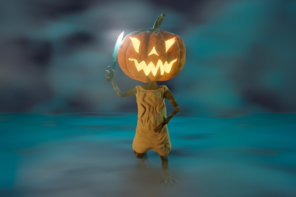 Pumpkin's Revenge by humphreyhippo