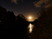 31st Oct 2020 - Hunter's Moon and Blue Moon for Halloween