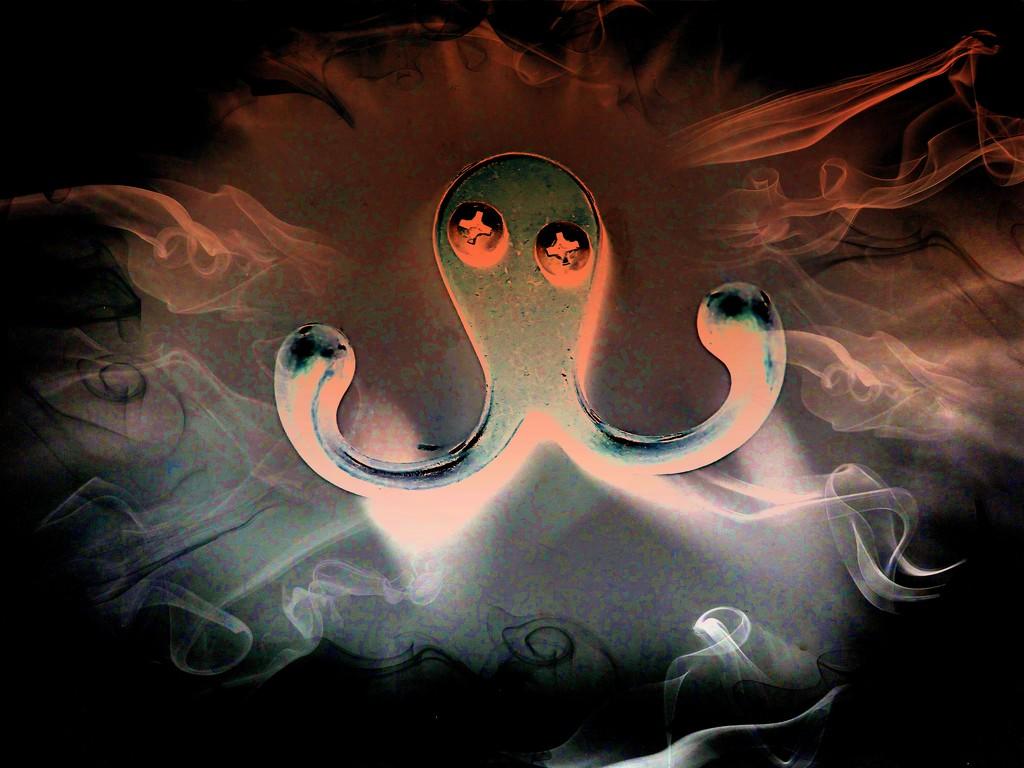 Kooky Octopus Edit 5 by olivetreeann