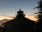 30th Oct 2020 - Brookings light at sunset