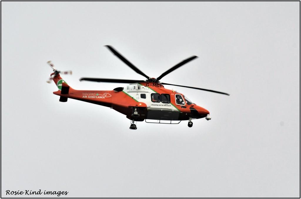 The Air Ambulance by rosiekind