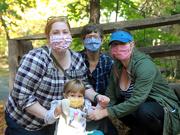 3rd Oct 2020 - My masked ladies