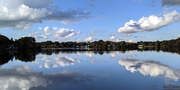 5th Oct 2020 - Reflections on Hardy Pond