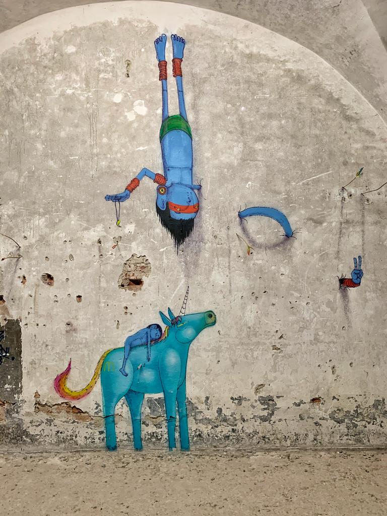 Blue horse. by cocobella