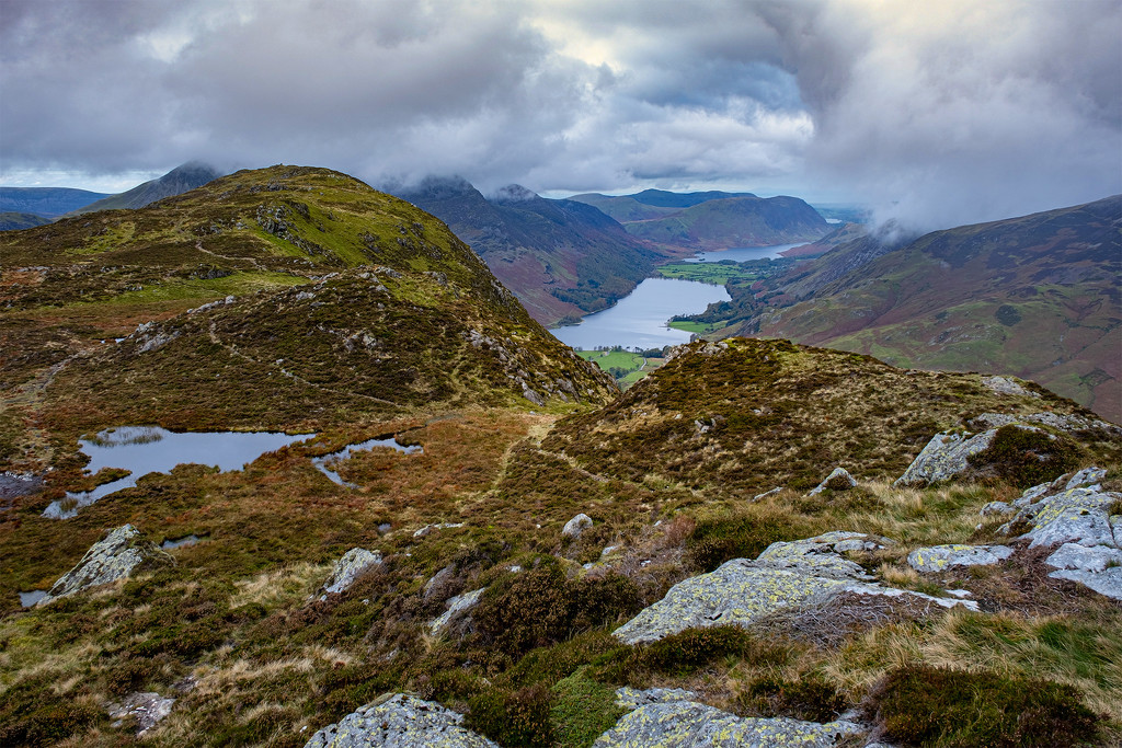 North from Fleetwith Pike by ellida