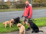 5th Nov 2020 - Duncan the dog walker