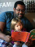 4th Oct 2020 - Reading with Uncle Neal