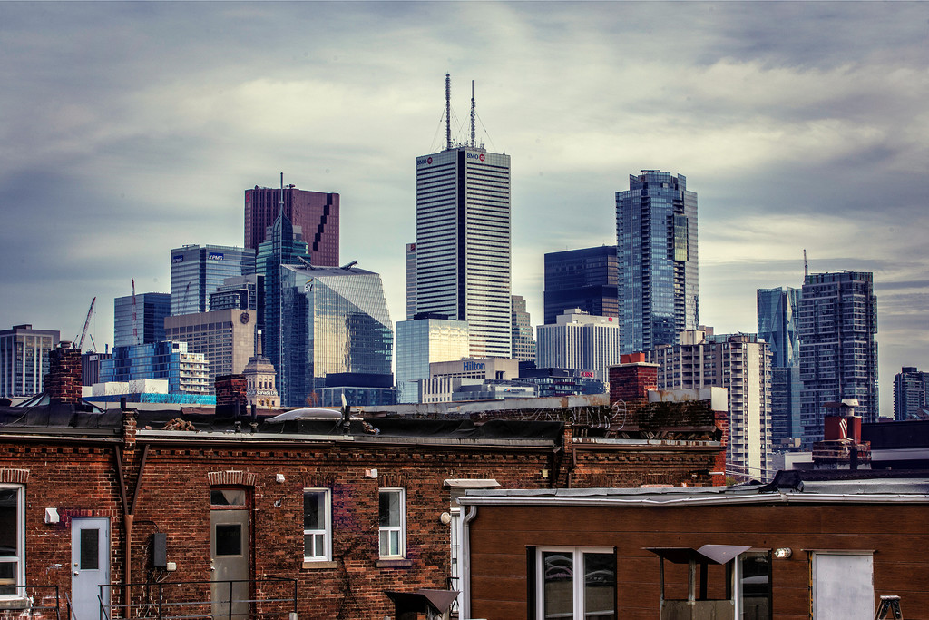 Toronto's Skyline by pdulis