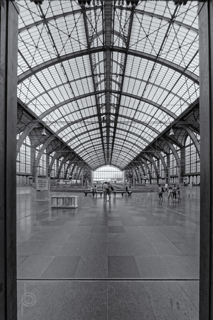 Antwerp station axis by bpfoto