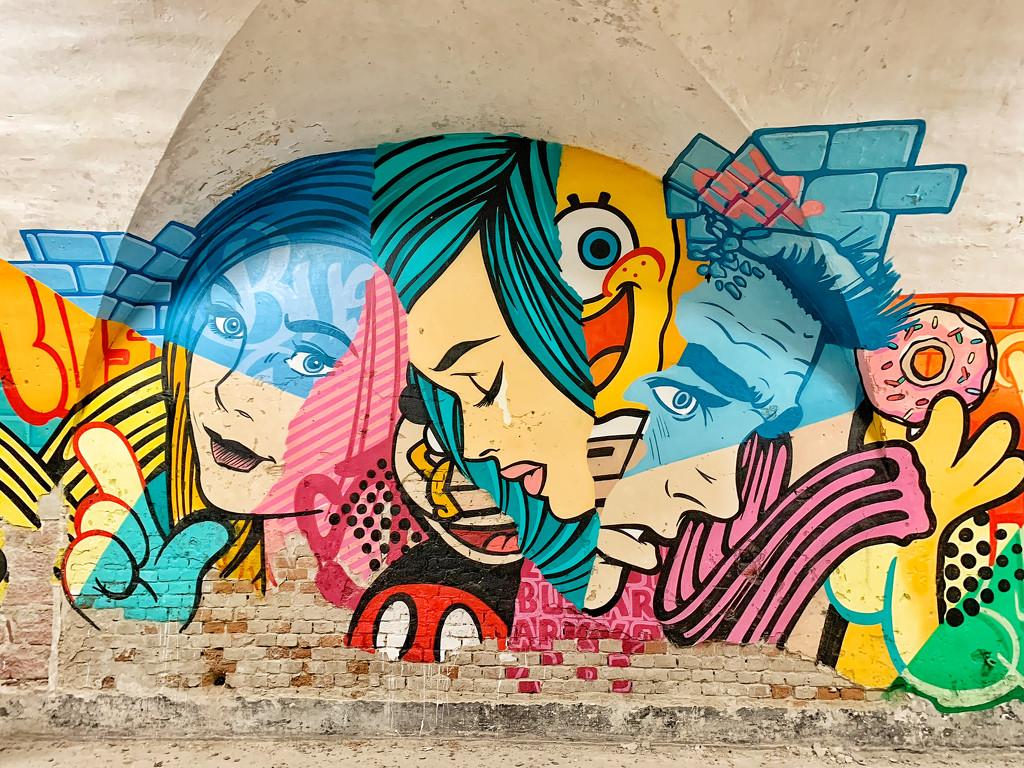 Mural pop art    by cocobella