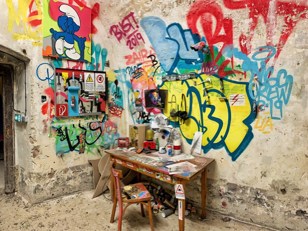 Artist desk.  by cocobella