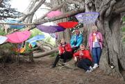 7th Nov 2020 - Brolly girls find a brolly forest