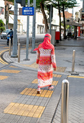 8th Nov 2020 - Colourful Lady on Crossing
