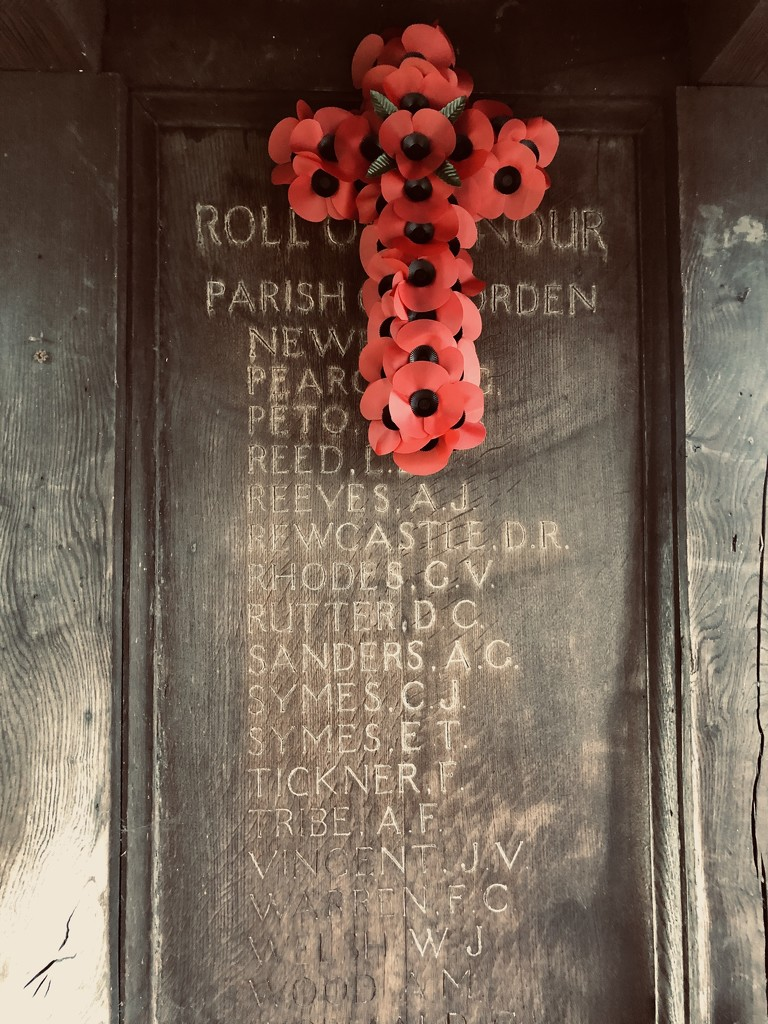Remembrance Sunday  by rumpelstiltskin