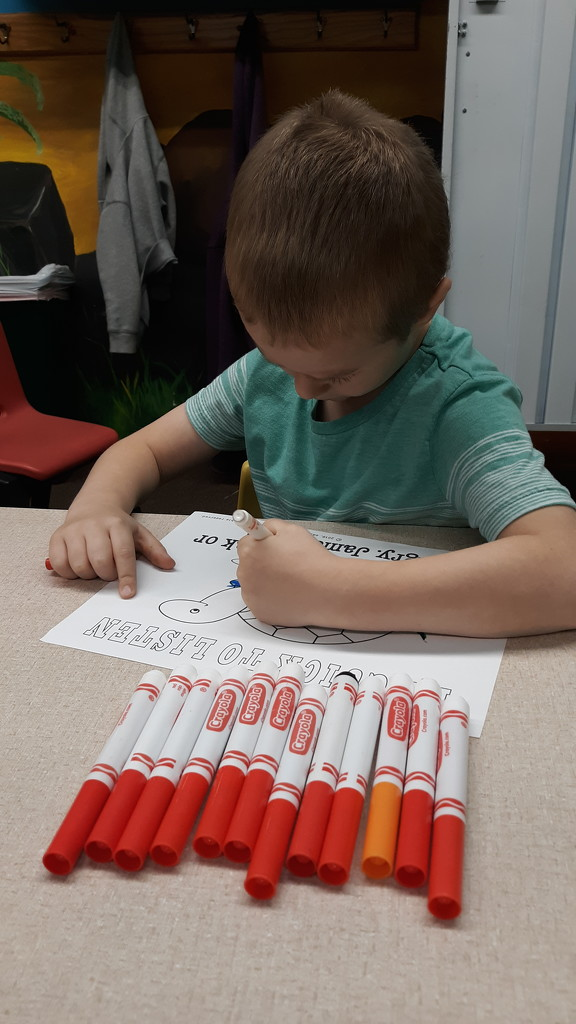 Red Marker anyone? by julie