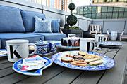 8th Nov 2020 - Tea On The Terrace