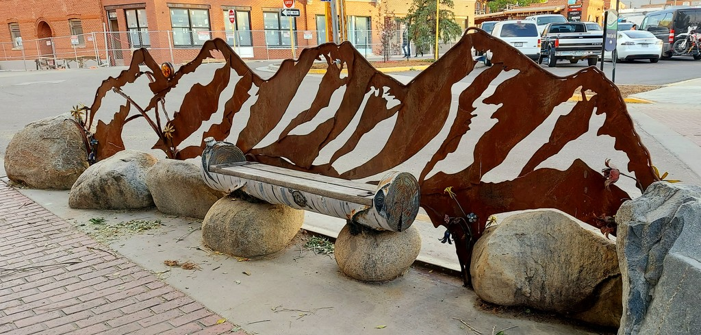 A One of a Kind Bench by harbie