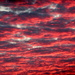 From dark clouds to fiery red by bruni