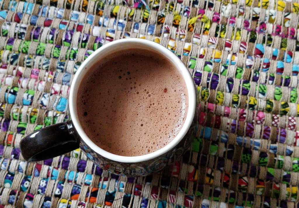 Hot chocolate by roachling