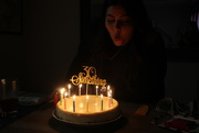 10th Nov 2020 - From above (blowing out candles)