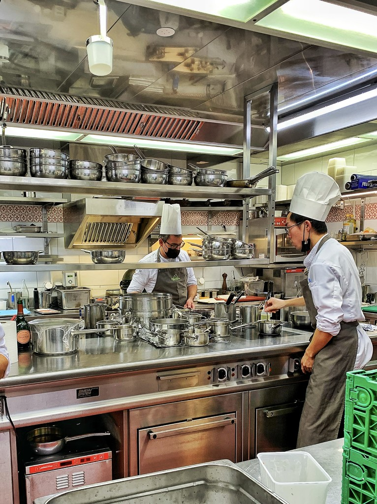 Cooking.  by cocobella
