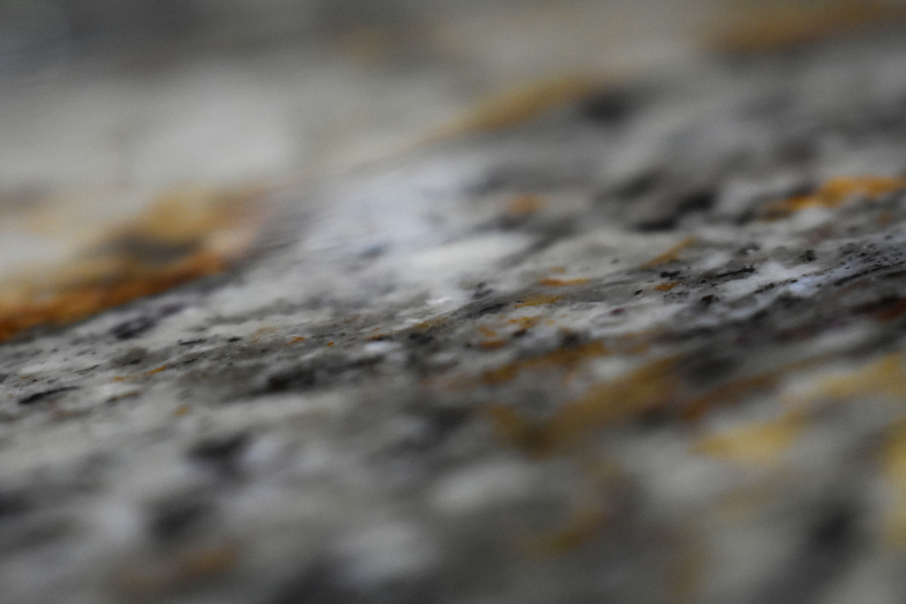 Granite Macro Abstract by homeschoolmom